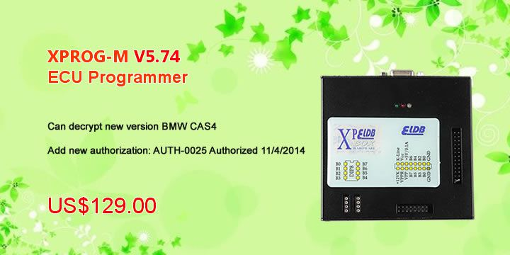 XPROG-M V5.74 X-PROG Box ECU Programmer with USB Dongle