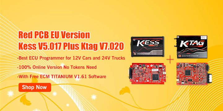 Kess ECU Programmer V5.017 EU Version with Red PCB Online Version